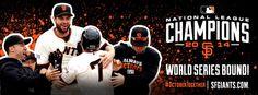 SF Giants 2014 NLCS Champions!
