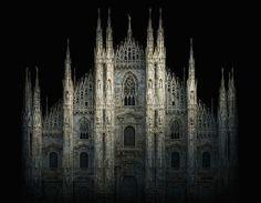 Irene Kung, Duomo. Milano, 2012© Irene Kung - Courtesy Contrasto Galleria Milano