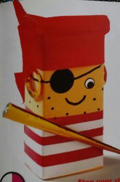 3d knutsel: piraat