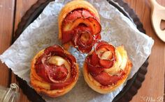 Pizzabrötchen waren gestern: Heute gibt es Pizza Rosen | Miss Blueberrymuffin | Bloglovin'