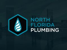 Logo for North Florida Plumbing. Designed by @seankinberger