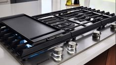 "Kitchen Aid 36"" Gas Cooktop Wolf Appliances, Kitchen Aid Appliances, Kitchen Tops, Kitchen Inspiration, Design Inspiration, Cookers, Kitchenaid, Perfect Match, Design Elements"