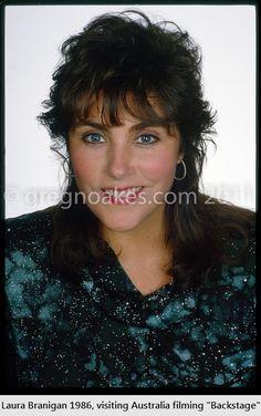 "Laura Branigan 1986, Australia ""Backstage"""