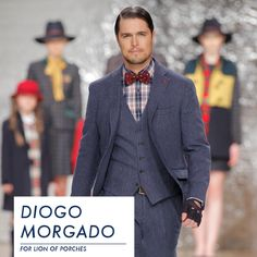 Diogo Morgado for Lion of Porches We are proud to announce our new ambassador. A perfect connection between talent and character. Welcome Diogo to Lion of Porches World! www.lionofporches.com