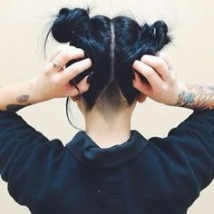 """Maybe this would make it more subtle when my hair's down? """"26 Undercuts That Will Make You Want To Get Your Clippers Out"""""""