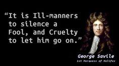 George Savile - Fools