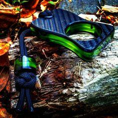 Black Carbon Fiber/Toxic Green Knuck available! #kobrakydexgear #kydex #knuck…