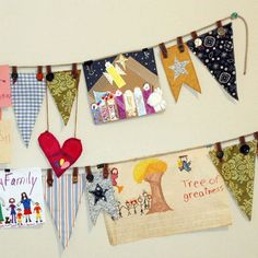 we have these hanging over each of the kids beds, now I just need to add some of those darling pennant!
