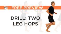 Running Warm-Up Drill - Two Leg Hops