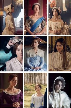 Victoria's costumes in An Ordinary Woman.