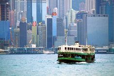 "#HK's Classic Star Ferry is one of National Geographic Traveler's ""50 experiences of a lifetime"""