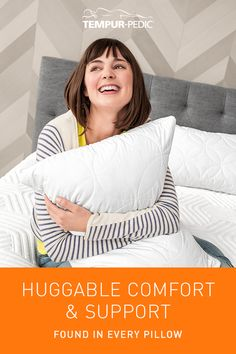 Made with material originally developed by NASA, our pillows respond to your unique shape to help you sleep undisturbed through the night.