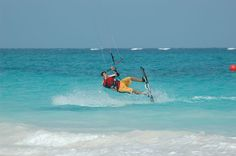 Get adventurous! Do some kite surfing in Playa!