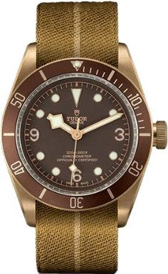 Buy Tudor Black Bay Bronze Watches, authentic at discount prices. Complete selection of Luxury Brands. All current Tudor styles available. Tudor Black Bay Bronze, Tudor Bronze, Casual Watches, Cool Watches, Rolex Watches, Dream Watches, Fine Watches, Cheapest Rolex, Tudor Heritage Black Bay