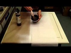 How To Glaze Cabinet Doors by Pearl Painters | 503-579-3765