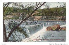 Flat Rock Dam Schuylkill River Fairmount Park Philadelphia PA ...