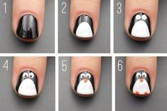 21 paso a paso que te convertirá en un experto en decoración de uñas - Uñas infantiles - New Nail Art, Cute Nail Art, Nail Art Diy, Easy Nail Art, Diy Nails, Cute Nails, Nails For Kids, Girls Nails, Gel Designs