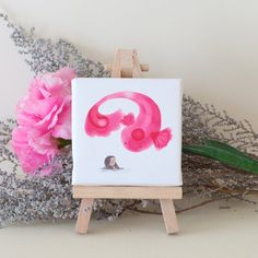 Mini Monsters up there fishy by OhhhKaye on Etsy