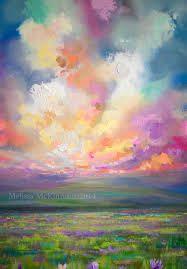 cloud burst paintings - Google Search