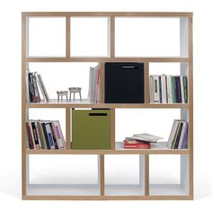 Berlin Cube Unit Bookcase Bookcase Contemporary Bookcase