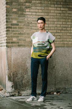 Urban Fieldnotes: Sang Woo Kim: Washington St, New York