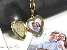 As Valentine's Day is on the verge of arrival, nothing can be a better than gifting your partner a photo locket. Order this item now from Heartsmith & instantly save 10% on it.