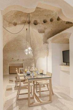 Un luxueux hôtel se cache dans ces grottes en Italie