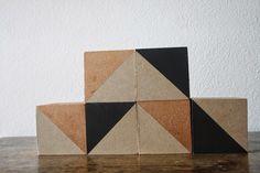 Decorative blocks DIY