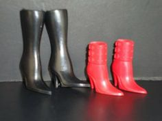 2 Pairs of Trendy Boots Made to Fit the Barbie Doll by Olivia's Doll Closet. $3.00. 100% Brand new  Size: Great for 30 cm Barbie dolls & other 30 cm dolls. A great gift for your children ,your friends and yourself . check out our many other styles and colors. Package includes: 2X shoes (Doll not included, only the Shoes). 2 Pairs of Trendy Boots Made to Fit the Barbie Doll. Please note:   that all items are made for and or by Olivias Doll Closet,  they are made to fit...