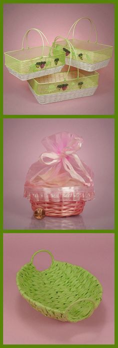 Easter Basket Ideas - The Easter Bunny will be Happy to Know He Can Give Out All His Special Easter Goodies in These Cute Easter-Themed Baskets. #easterbaskets #basketsforeaster #easterbasketideas