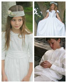Elena Rubio - Moda Infantil - Kids Fashion  - Primera Comunión - First Communion -  www.compritasparalospeques.com