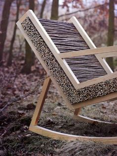 Made from sticks...