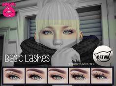 [POUT!] Basic lashes - CATWA