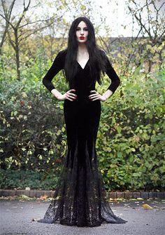 morticia halloween costume happyhalloween halloween - Happy Halloween Costume