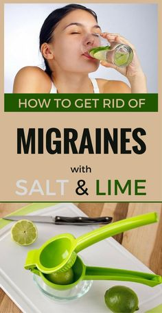 Migraines are intense pains that appear on one side of the head and are accompanied by light hypersensitivity, nausea and dizziness. You can relieve or get rid of migraines with natural remedies, and quitting painkillers because they have side effects. Although, you have to see a doctor if these migraines persists! You need: – lime ...