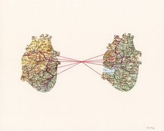 An invisible red thread connects those who are destined to meet, regardless of time, place, or circumstances. The thread may stretch or tangle but will never break.  -Paper Towns