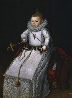 Santiago Morán el Viejo - Margarita Francisca, Philip III of Spain's daughter (c. 1610).