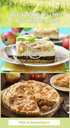 Připravte si jablečný koláč chutně a zdravě