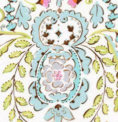 Dena Designs, Maison in Ivory, Leanika Cotton Fabric