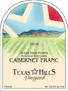 2010 Texas Hills Vineyard Cabernet Franc 750 mL *** Learn more by visiting the image link.