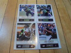 #JoeFlacco #TorreySmith #PercyHarvin #2014 #PaniniScore 4 Card Lot | #eBay #BaltimoreRavens #SeattleSeahawks