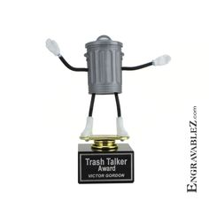 That's right, its a Trashcan Trophy. Who in your Fantasy League needs one of these? (www.TempeTrophy.com)