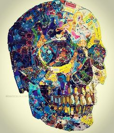 This is the Skull Appreciation Society - Welcome to a World of SkullsWELCOME TO A WORLD OF SKULLS | A blog dedicated to bringing you skulls in art, design and sculpture.