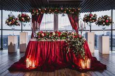 trendy wedding table burgundy centerpiece ideas in 2019 Wedding Table Flowers, Wedding Table Centerpieces, Wedding Bouquets, Wedding Decorations, Wedding Dresses, Centerpiece Ideas, Burgundy Wedding, Red Wedding, Wedding Colors