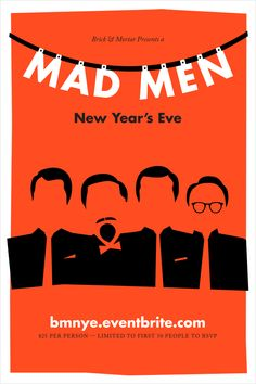 A Mad Men New Year's Eve - Klaas Co. Design & Illustration