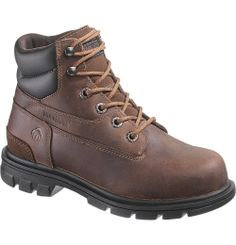 "Women's Belle Steel-Toe EH 6"" Work Boot - W10029 - Steel Toe Work Boots 