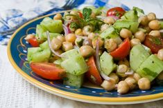 Chickpea Vegetable Salad