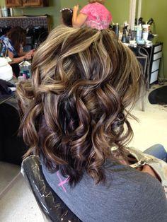 Hair by Trisha at fringe salon in lennon mi