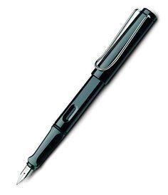 Lamy Safari Fountain Pen - Gloss Black
