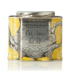 Old Silver Teapot tes - Fortnum & Mason